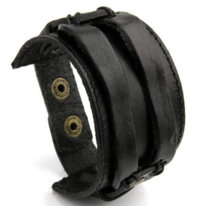 Product_Wide_Mens_Leather_Bracelet_Brown_Black1.jpg