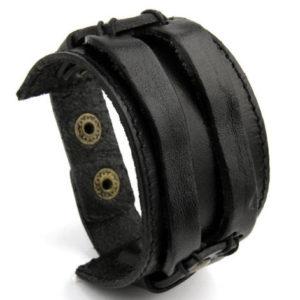 Product_Wide_Mens_Leather_Bracelet_Brown_Black1.jpg